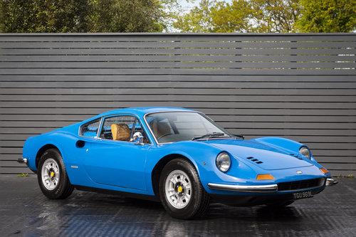 1972 FERRARI DINO 246 GT RHD SOLD (picture 1 of 6)
