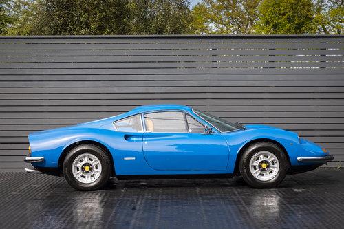 1972 FERRARI DINO 246 GT RHD SOLD (picture 3 of 6)