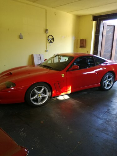 2000 Ferrari 550 Maranello SOLD (picture 1 of 3)