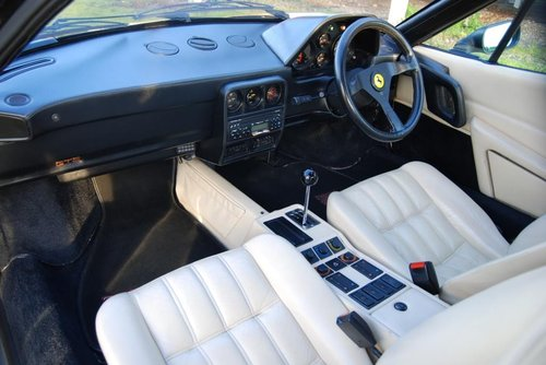 1986 Ferrari 328GTS, Black/Cream, History, 92k, Smart/usable 328 For Sale (picture 2 of 6)