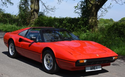 1981 FERRARI 308 GTSi HISTORY FROM NEW !    LHD For Sale (picture 1 of 6)