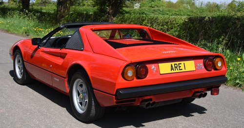 1981 FERRARI 308 GTSi HISTORY FROM NEW !    LHD For Sale (picture 3 of 6)