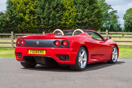 2004 Ferrari 360 Spider SOLD (picture 4 of 6)