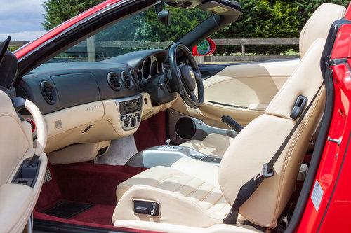 2004 Ferrari 360 Spider SOLD (picture 5 of 6)