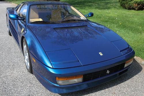 1989 FERRARI TESTAROSSA for sale For Sale (picture 1 of 6)