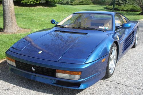1989 FERRARI TESTAROSSA for sale For Sale (picture 2 of 6)