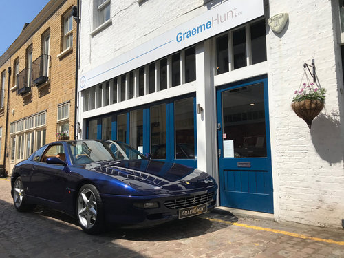 1994 Ferrari 456 GT - 6 speed manual SOLD (picture 1 of 6)