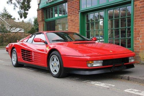 1990 Ferrari Testarossa Coupe Manual LHD For Sale (picture 2 of 4)