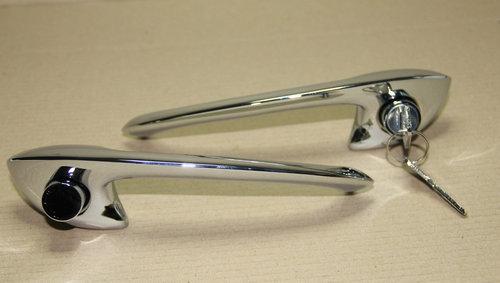 CLASSIC FERRARI 250 BRAND NEW DOOR HANDLES SET KIT  For Sale (picture 3 of 4)