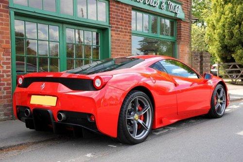 2015 Ferrari 458 Coupe Speciale  SOLD (picture 3 of 4)