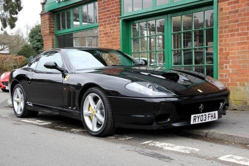 2003 Ferrari 575M Maranello F1  SOLD (picture 2 of 4)