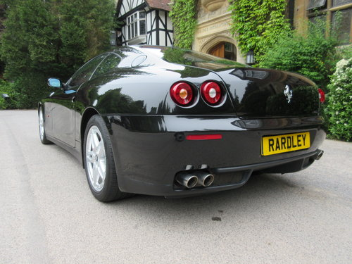 2005 Ferrari 612 six speed manual -One of just 23+UK cars For Sale (picture 3 of 6)