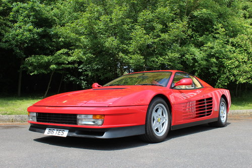 1990 FERRARI TESTAROSSA - UNDER 14,000 MILES FROM NEW !!! For Sale (picture 1 of 6)