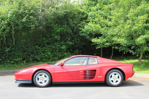 1990 FERRARI TESTAROSSA - UNDER 14,000 MILES FROM NEW !!! For Sale (picture 2 of 6)