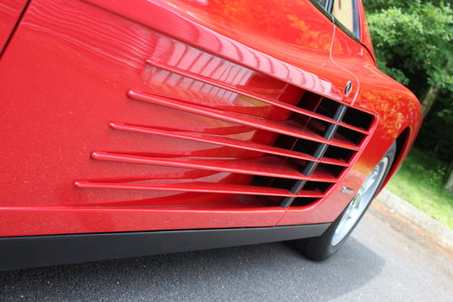 1990 FERRARI TESTAROSSA - UNDER 14,000 MILES FROM NEW !!! For Sale (picture 6 of 6)