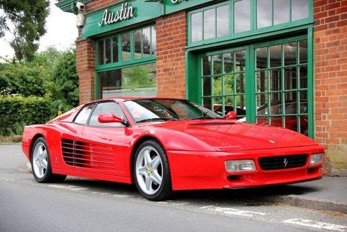 1993 Ferrari 512 TR Coupe  SOLD (picture 2 of 4)