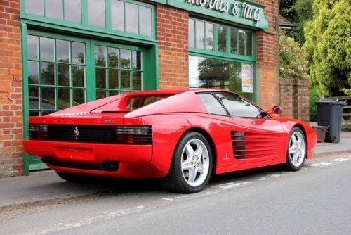 1993 Ferrari 512 TR Coupe  SOLD (picture 3 of 4)