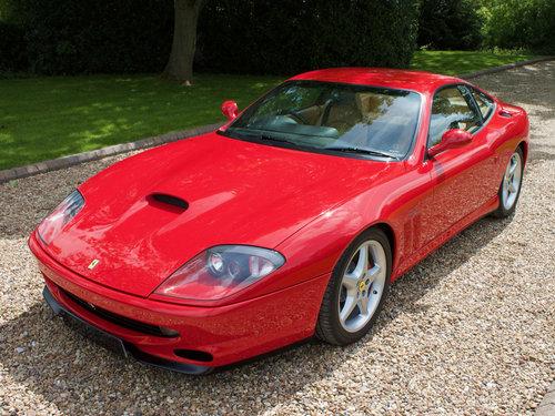 1998 Ferrari 550 Maranello For Sale (picture 1 of 6)