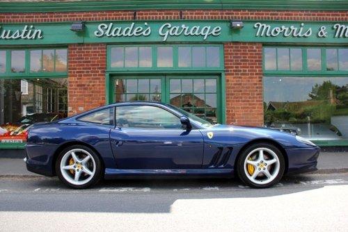2000 Ferrari 550 Maranello Coupe Manual  For Sale (picture 1 of 5)