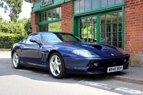 2000 Ferrari 550 Maranello Coupe Manual  For Sale (picture 2 of 5)
