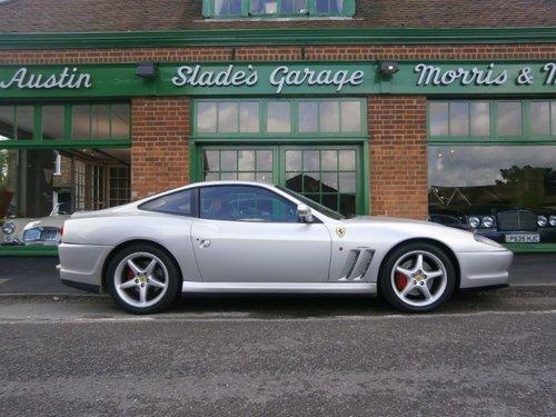 2001 Ferrari 550 Maranello Coupe Manual  For Sale (picture 1 of 4)
