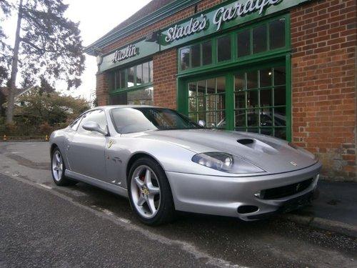 2001 Ferrari 550 Maranello Coupe Manual  For Sale (picture 2 of 4)