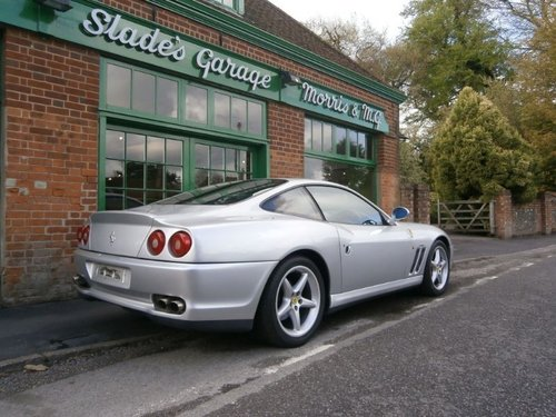 2001 Ferrari 550 Maranello Coupe Manual  For Sale (picture 3 of 4)