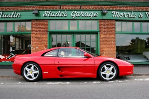 1998 Ferrari 355 GTB Coupe Manual  SOLD (picture 1 of 4)