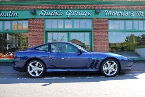 2002 Ferrari 575M Coupe F1  SOLD (picture 1 of 4)