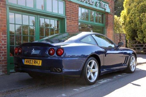2002 Ferrari 575M Coupe F1  SOLD (picture 3 of 4)