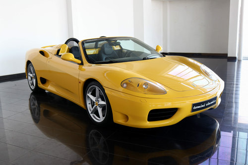 Ferrari 360 Spider Manual Gearbox 2002 For Sale Car