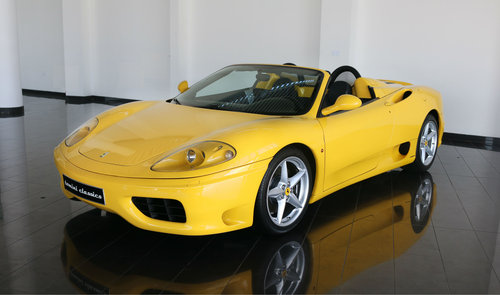 Ferrari 360 Spider - Manual Gearbox (2002) For Sale (picture 3 of 6)