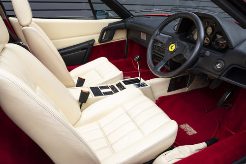 1989 FERRARI 328 GTS  ONLY 22250 MILES (ABS MODEL) For Sale (picture 4 of 6)