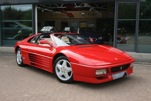 1991 Ferrari 348 TS - 25,645 miles For Sale (picture 1 of 6)