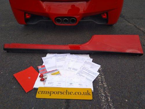 2010 Ferrari 458 Italia F1 Salvage Accident Damaged SOLD (picture 2 of 6)