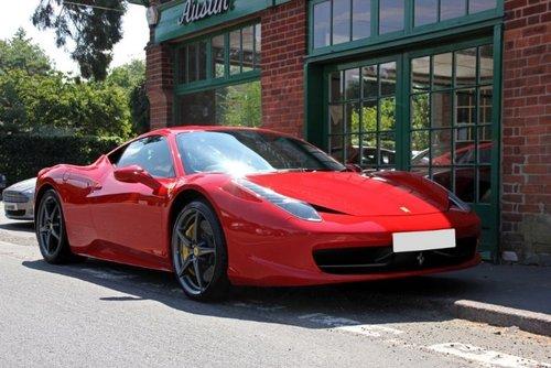 2011 Ferrari 458 Italia DCT Coupe  SOLD (picture 2 of 4)