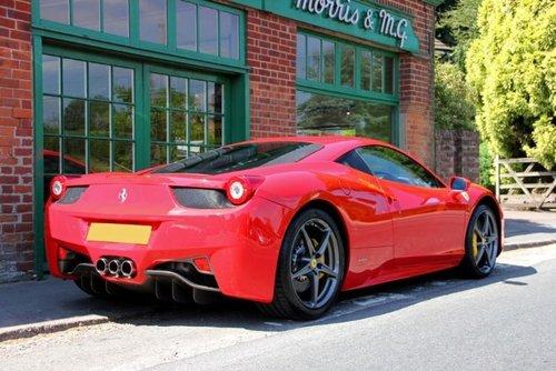 2011 Ferrari 458 Italia DCT Coupe  SOLD (picture 3 of 4)
