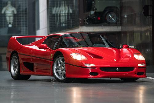 1997 Ferrari F50 SOLD (picture 1 of 6)