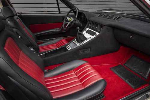 1972 Ferrari 365 GTC/4 Coupe  LHD FERRARI CLASSICHE CERTIFIED SOLD (picture 4 of 6)