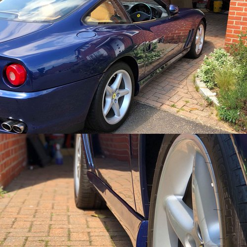 1999 TDF Blue Ferrari 550 In stunning condition Fantastic history For Sale (picture 4 of 6)