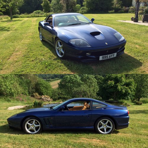 1999 TDF Blue Ferrari 550 In stunning condition Fantastic history For Sale (picture 6 of 6)