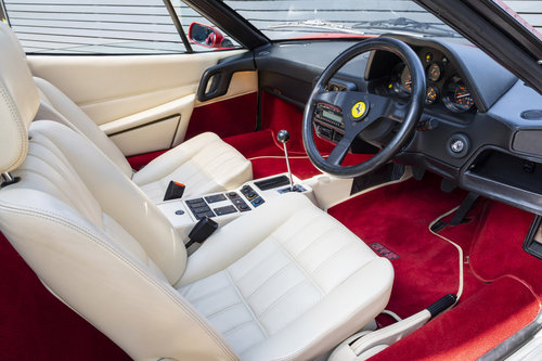 1986 FERRARI 328 GTS  ONLY 22250 MILES SOLD (picture 4 of 6)
