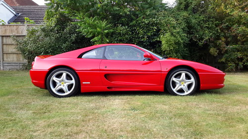 1998 Ferrari F355 Berlinetta, LHD, manual, only 22,500 miles For Sale (picture 1 of 6)