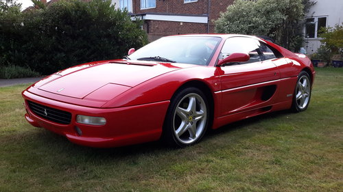 1998 Ferrari F355 Berlinetta, LHD, manual, only 22,500 miles For Sale (picture 3 of 6)
