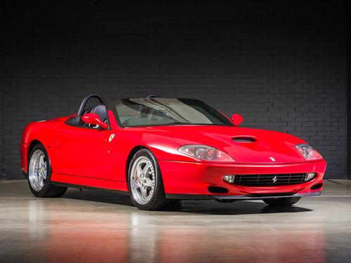 2001 Ferrari 550 Barchetta For Sale (picture 1 of 6)