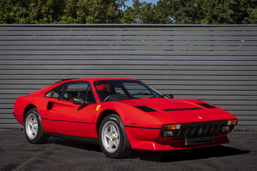 1986 Ferrari 308 GTBi QV RHD ONLY 16550 MILES SOLD (picture 1 of 6)