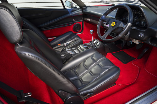 1986 Ferrari 308 GTBi QV RHD ONLY 16550 MILES SOLD (picture 4 of 6)