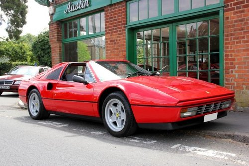 1987 Ferrari 328 GTS Manual  SOLD (picture 2 of 4)