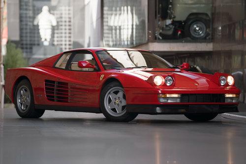 1990 Ferrari Testarossa SOLD (picture 1 of 6)