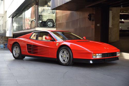 1990 Ferrari Testarossa SOLD (picture 2 of 6)